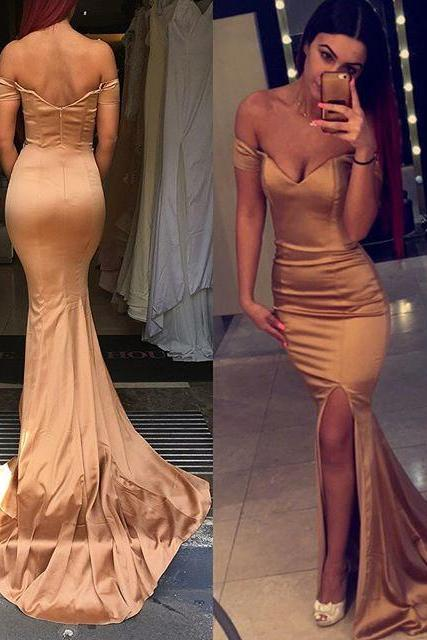 sweetheart leg slit long mermaid prom dresses sexy party dress for women,BD555