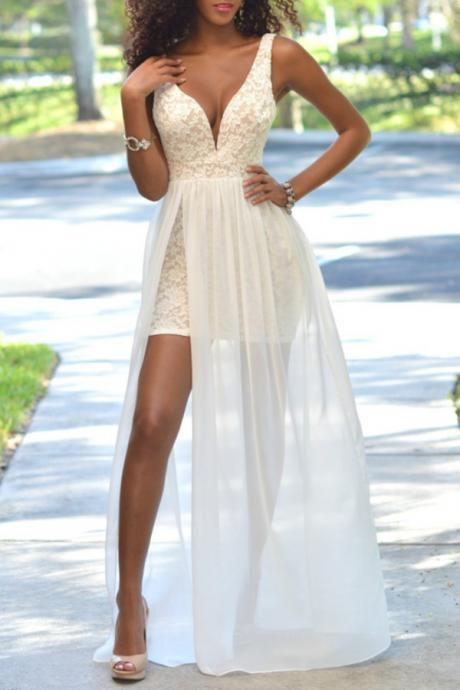 High Quality Prom Dress,A-Line Prom Dress,Lace Prom Dress,Charming Prom Dress, V-Neck Prom Dress,PD1700167