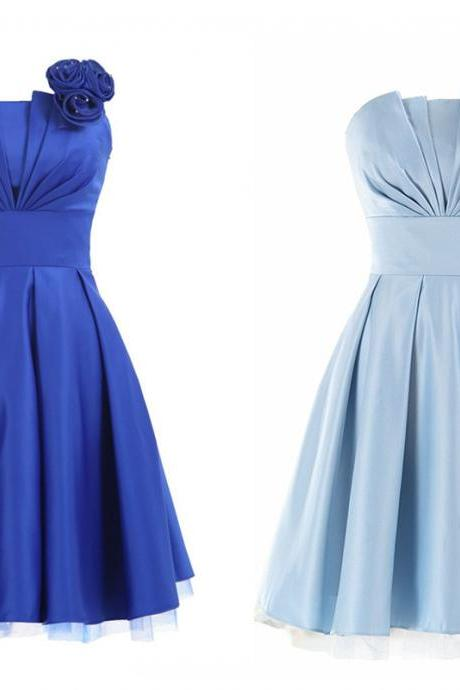 Charming Homecoming Dress,Satin Homecoming Dress,Pleat Homecoming Dress,Noble Homecoming Dress,PD1700258