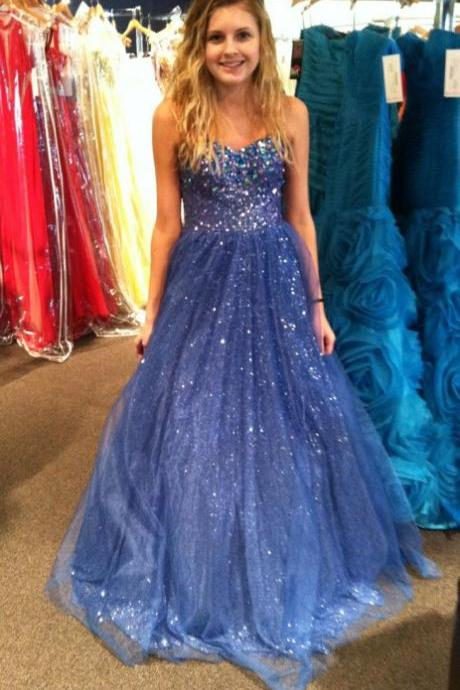 Charming Prom Dress,Organza Prom Dress,A-Line Prom Dress,Sweetheart Prom Dress,Beading Prom Dress,PD1700424