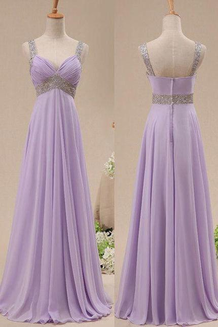 Charming Prom Dress,V-Neck Prom Dress,A-Line Prom Dress,Sequined Prom Dress,Chiffon Prom Dress,PD1700495