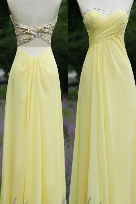 Brief Prom Dress,Sequined Prom Dress,A-Line Prom Dress,Strapless Prom Dress,Chiffon Prom Dress,PD1700496