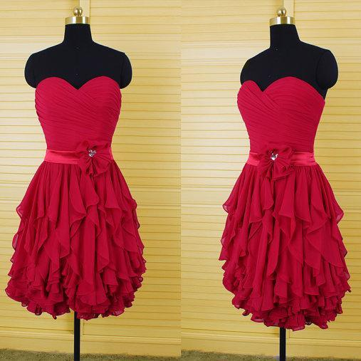 Charming Homecoming Dress,Chiffon Homecoming Dress,Sweetheart Homecoming Dress, Short Noble Homecoming Dress,PD1700298