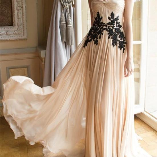 Charming Prom Dress,Appliques Prom Dress,A-Line Prom Dress,One-Shoulder Prom Dress,Chiffon Prom Dress,PD1700508